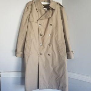 London Fog by greenwood trench coat 42 regular